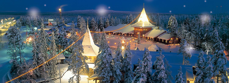 「サンタクロース村 フィンランド」の画像検索結果