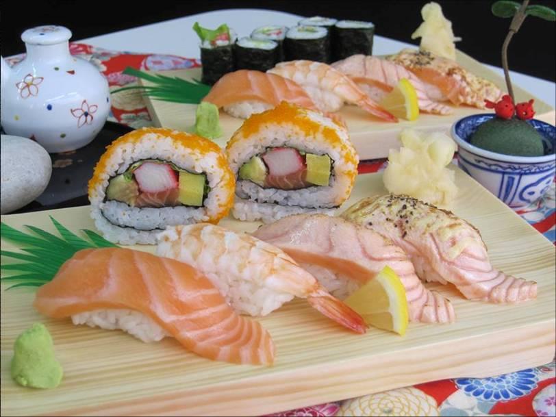 人気のセットメニュー「阿波」 (Sushi Wagocoro 寿司和心)