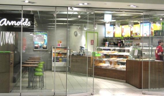 ヘルシンキ中央駅の地下にあるCityCentre店