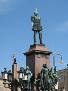 スウェーデン王国からロシア帝国の支配下に移ったフィンランド人にフィンランド人らしくあることを奨励したロシア皇帝アレクサンドル2世 (画像提供:City of Helsinki Media Bank)