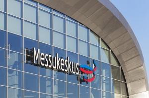 ヘルシンキ中央から約3.5キロ北のパシラ(Pasila)にある、メッスケスクス(Messukeskus =エキシビジョン・コンベンションセンター@Messukeskus)