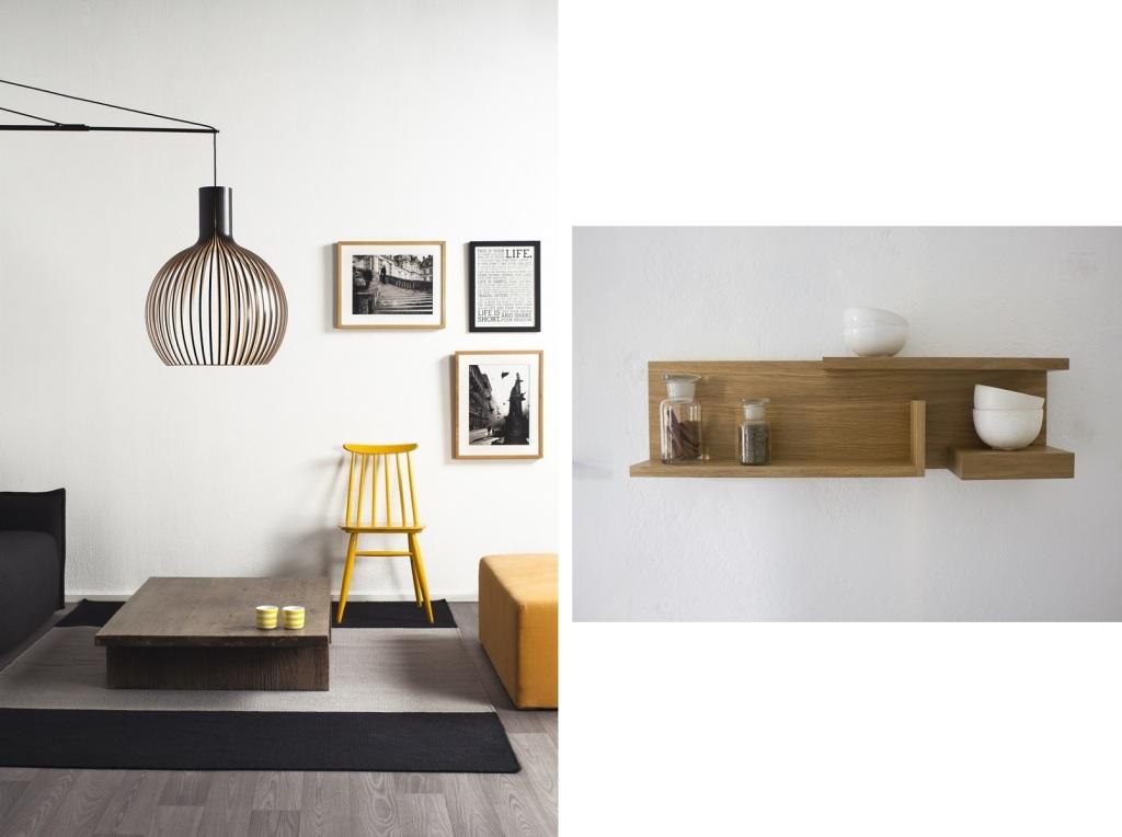 左:北欧らしい、フィンランドらしいインテリアデザインの数々(提供:HDW) 右:毎日の生活をちょっと豊かにするシンプルなデザイン(提供:HDW)