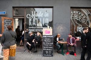美味しいものを食べながら、カフェやレストランとのデザインとの関わりを再認識するイベントも(@Aino Huovio HDW)